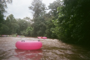 Tubing on the Chattahoochee River