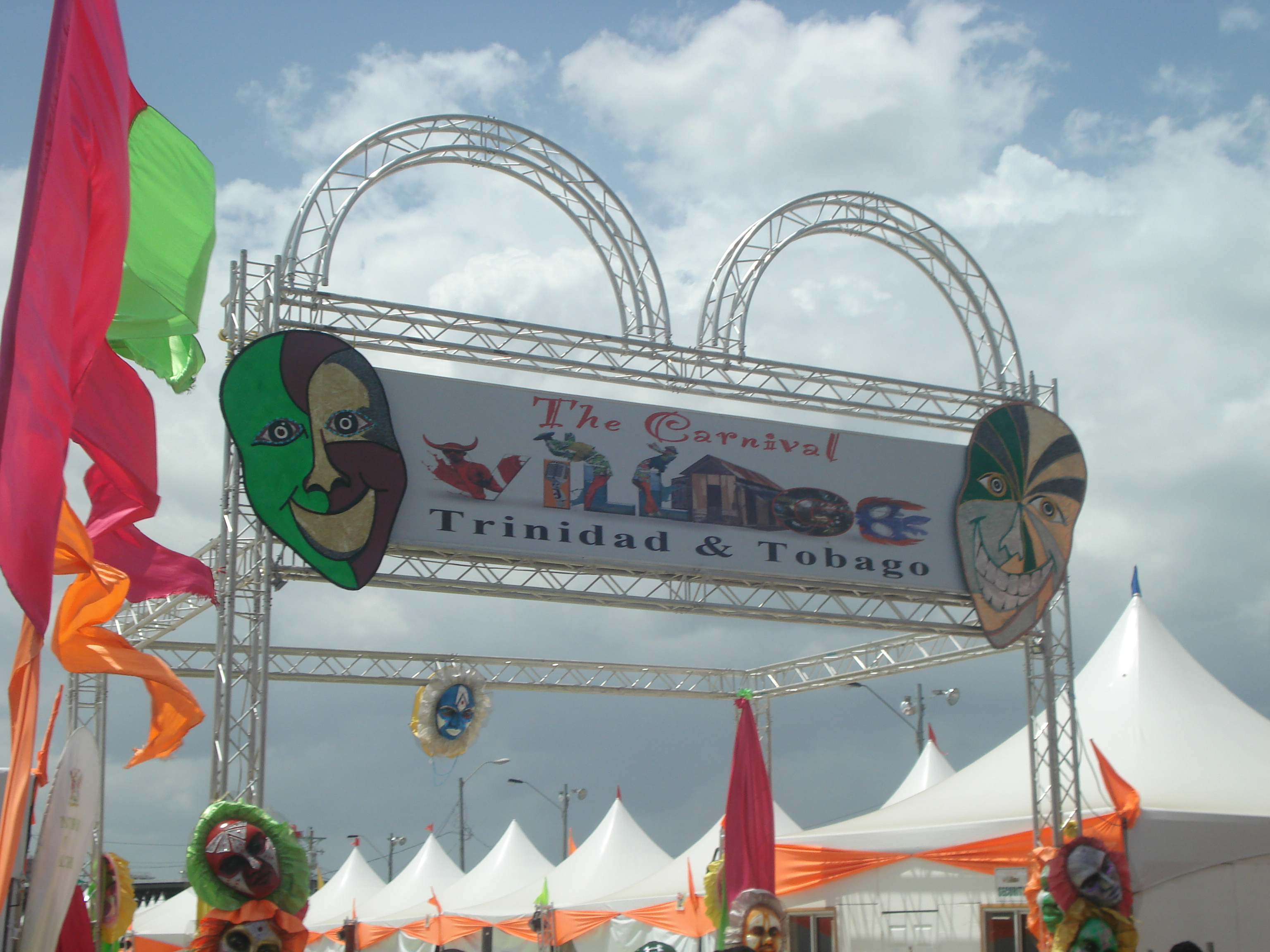 Trinidad Carnival Banners Info Banners
